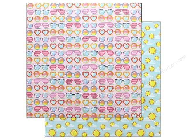 Photo Play Those Summer Days Paper 12 in. x 12 in.  Sunnies (25 pieces)