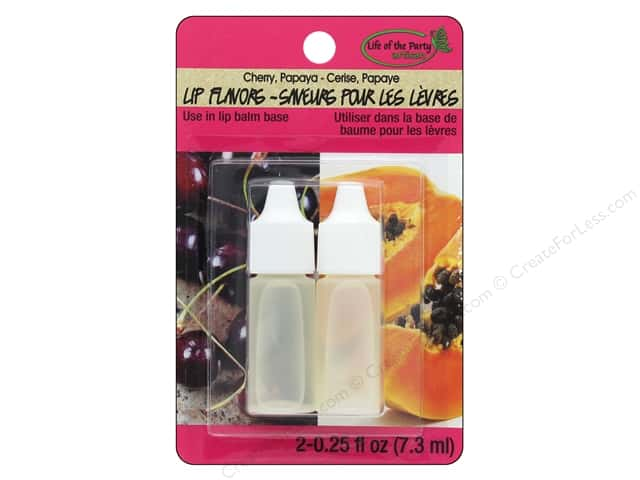 Life Of The Party Lip Balm Flavor 2 pc Cherry/Papaya
