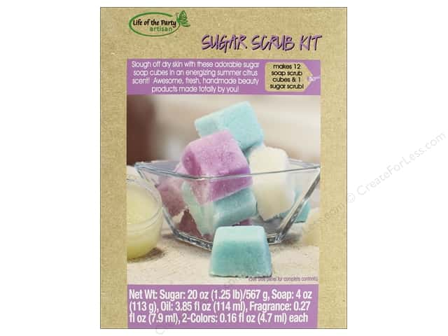 Life Of The Party Soap Making Kit Sugar Cube Scrub