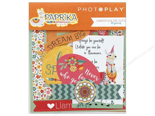 Photo Play Collection Paprika Die Cut Pack