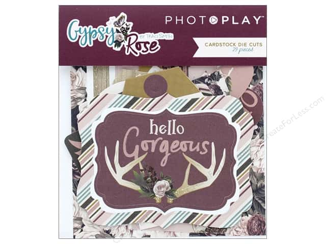 Photo Play Collection Gypsy Rose Die Cut Pack