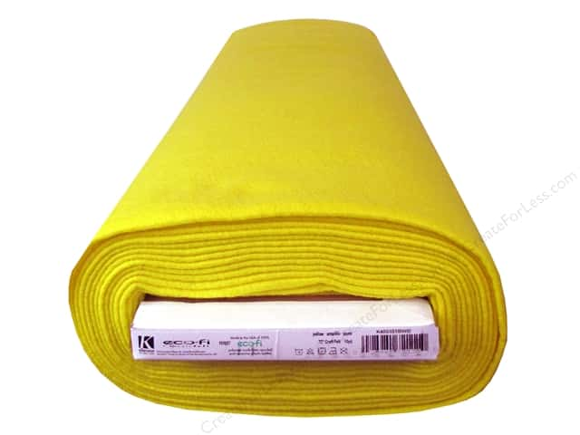 Kunin Rainbow Classic Felt 72 in. x 10 yd Bolt Yellow