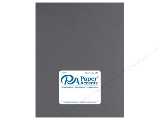 Paper Accents Cardstock 8.5 in. x 11 in. Muslin 73 lb Smoke Gray (25 sheets)