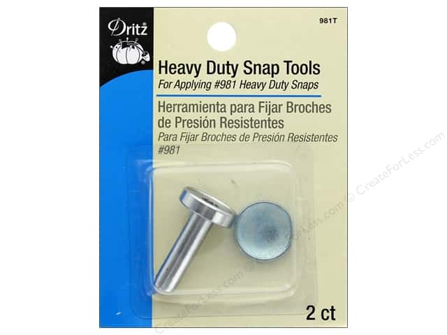 Dritz Tools Heavy Duty Snap For 981 Heavy Duty Snaps
