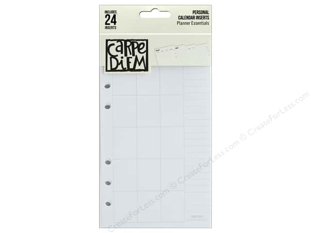Simple Stories Collection Carpe Diem Personal Calendar Inserts