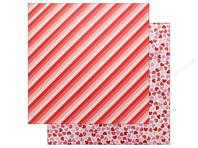 Pebbles Collection Forever My Always Paper 12 in. x 12 in. Follow Your Heart (25 pieces)