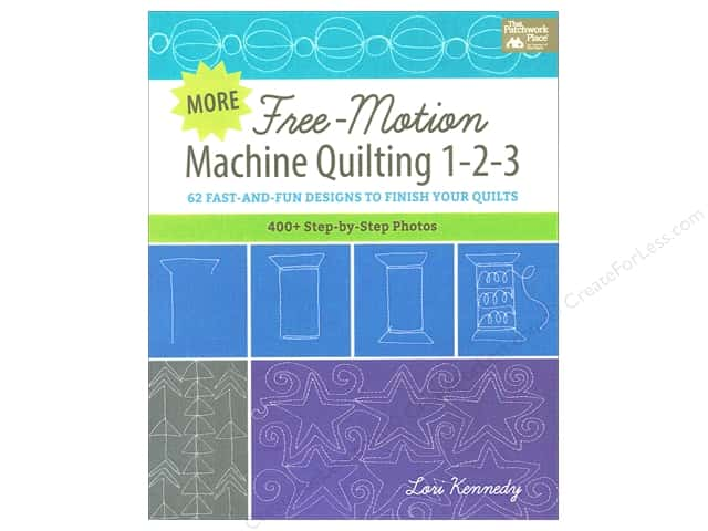 That Patchwork Place More Free Motion Machine Quilting 1-2-3 Book