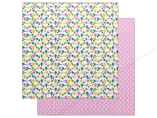 Doodlebug Collection Hello Paper 12 in. x 12 in.  Sitting Pretty (25 pieces)