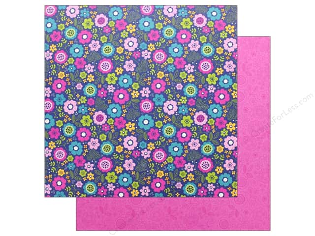Doodlebug Collection Hello Paper 12 in. x 12 in. Beautiful Blooms (25 pieces)