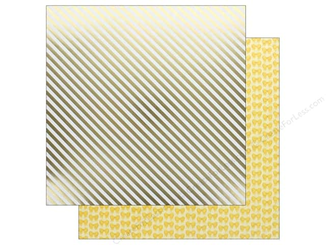 Doodlebug Collection Hello Paper 12 in. x 12 in. Good As Gold