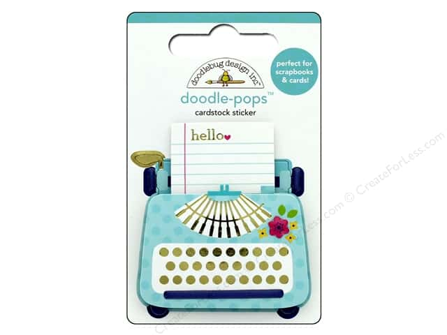Doodlebug Collection Hello Doodle Pops Just My Type