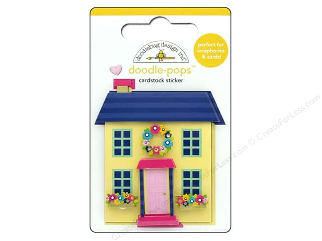 Doodlebug Collection Hello Doodle Pops Cute Cottage