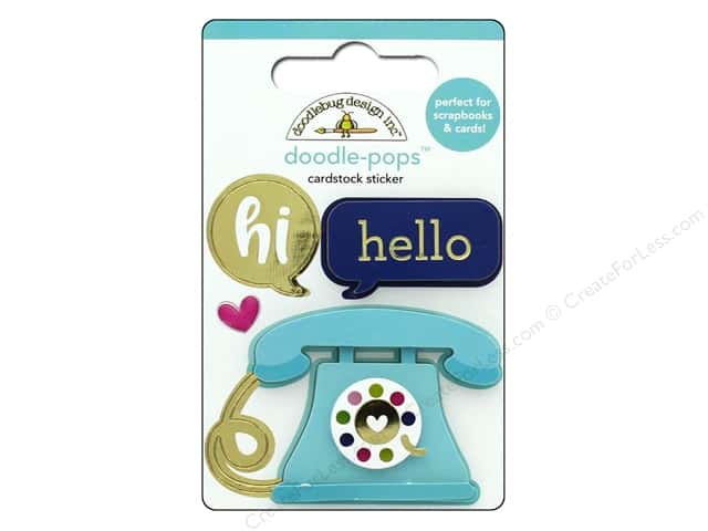 Doodlebug Collection Hello Doodle Pops Hello There