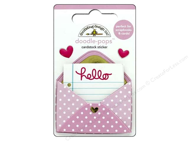 Doodlebug Collection Hello Doodle Pops Love Letter