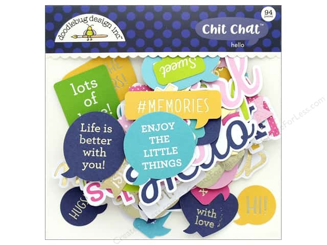 Doodlebug Collection Hello Chit Chat
