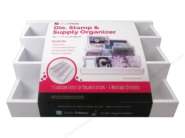 Totally Tiffany Desk Maid Die, Stamp & Supply Organizer
