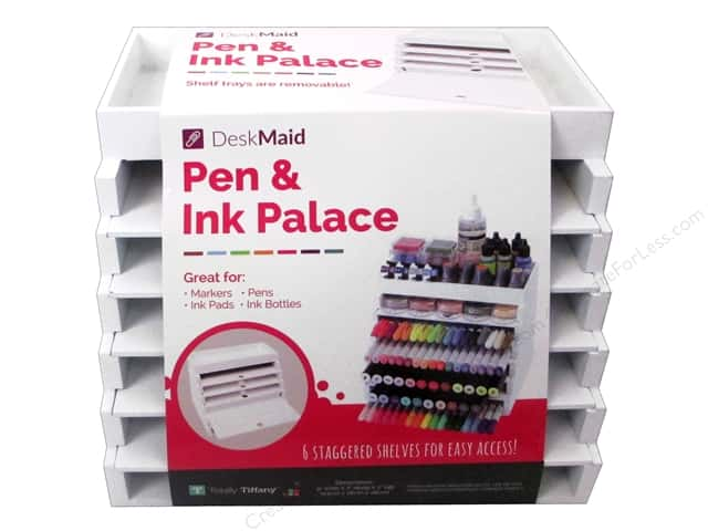 Totally Tiffany Desk Maid Pen & Ink Palace