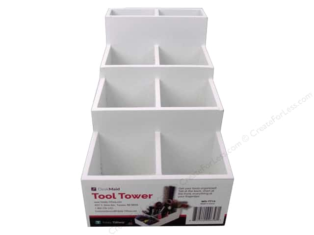 Totally Tiffany Organizers Desk Maid Tool Tower