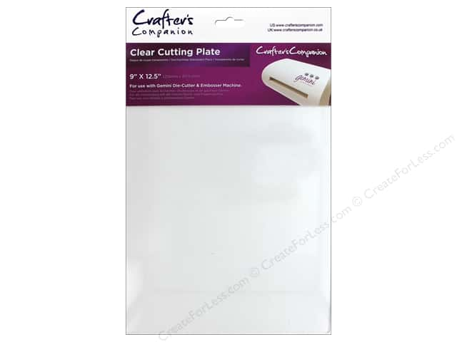 Crafter's Companion Gemini Cutting Plate Clear