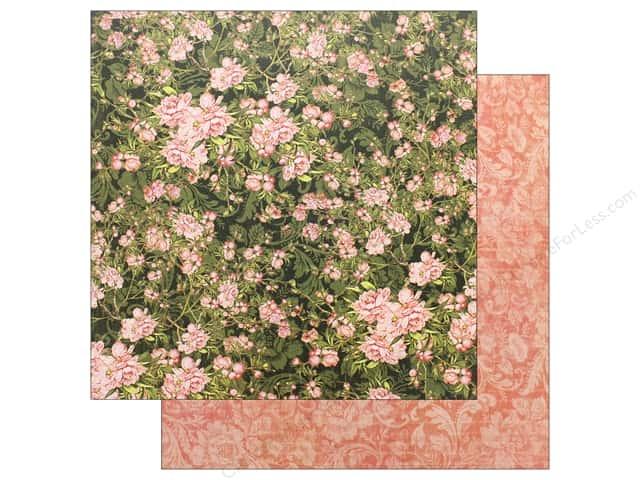 Graphic 45 Collection Floral Shoppe Paper 12 in.x 12 in. Verdant Blossoms (25 pieces)