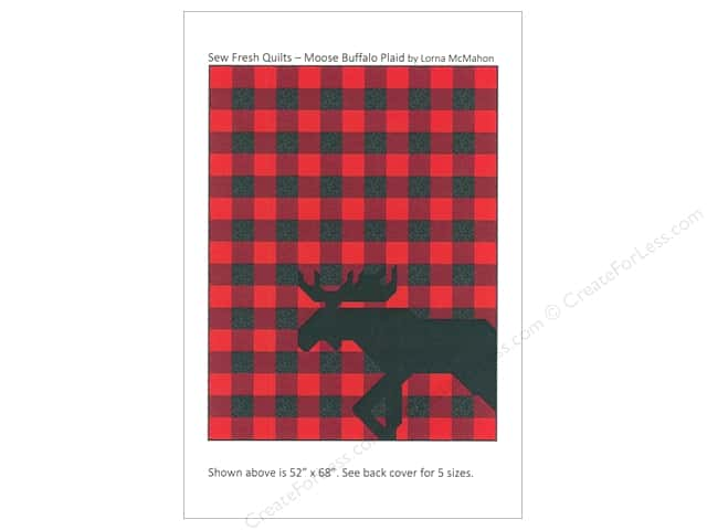Sew Fresh Quilts Moose Buffalo Plaid Pattern