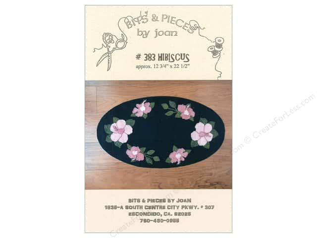 Bits & Pieces By Joan Patterns - Hibiscus