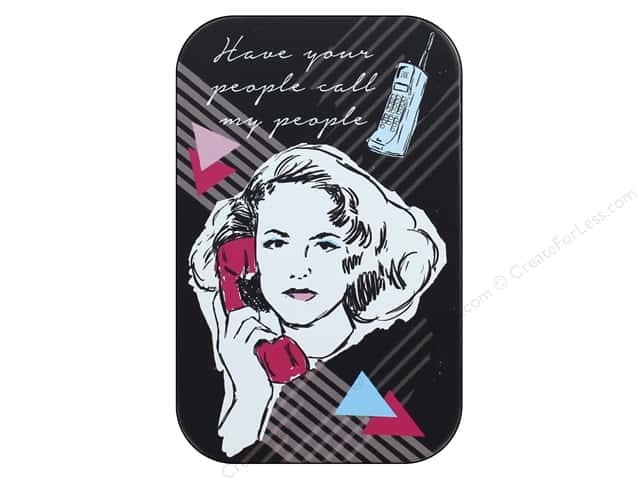 Molly & Rex Decorative Tin Small Your People Call