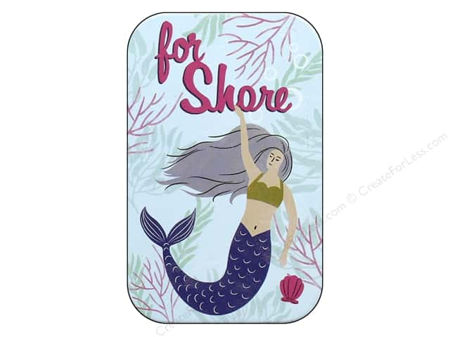 Molly & Rex Decorative Tin Small Fintastic For Shore