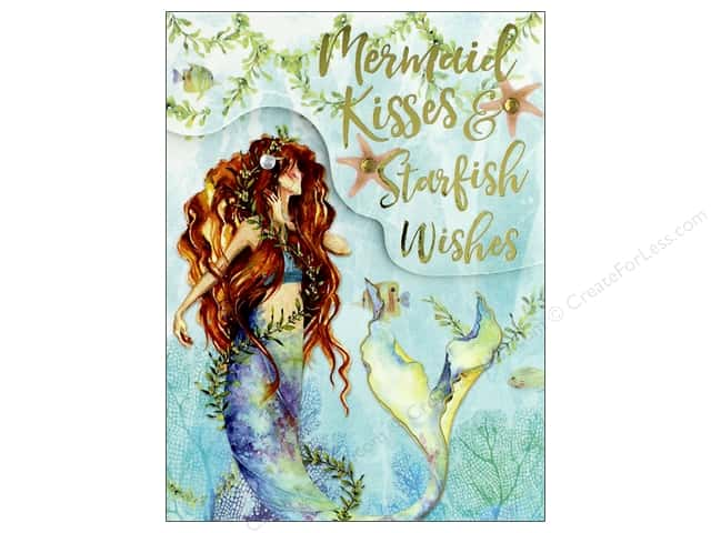 Punch Studio Note Pad Pocket Mermaid Kisses