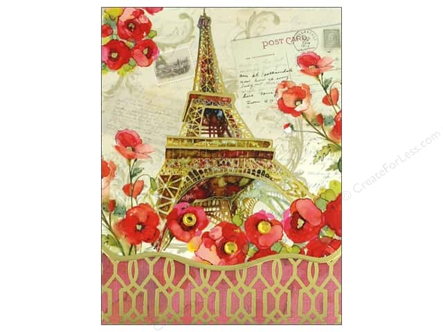 Punch Studio Note Pad Pocket Eiffel Tower