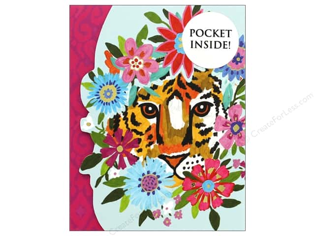 Molly & Rex Note Mini Portfolio Pocket Pad Flower Tiger