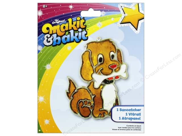 Colorbok Kit Makit Bakit Suncatcher Puppy Bone