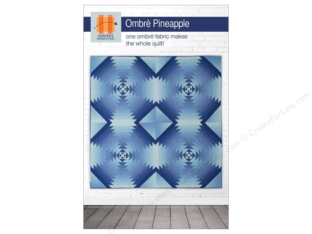 Hunter's Design Studio Ombre Pineapple Pattern