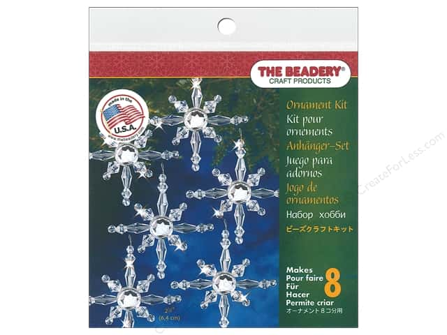 Beadery Craft Kit Ornament North Star