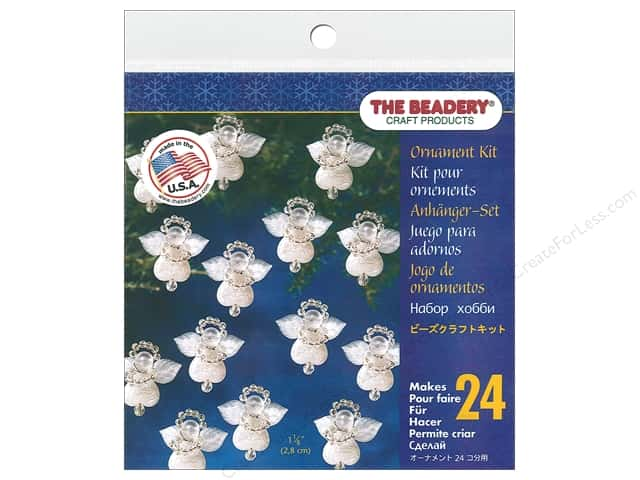 The Beadery Ornament Kit Littlest Angels