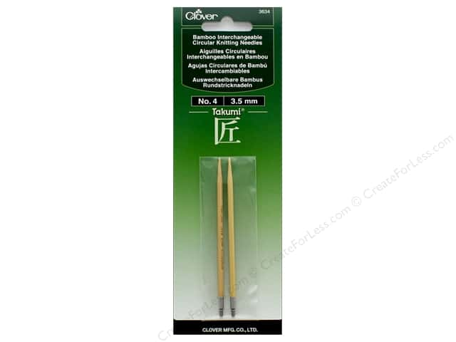Clover Interchangeable Circular Knitting Needle Size 4