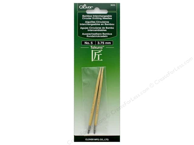 Clover Interchangeable Circular Knitting Needle Size 5