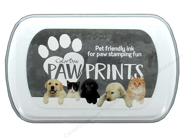 ColorBox Paw Prints Ink Pad Gray