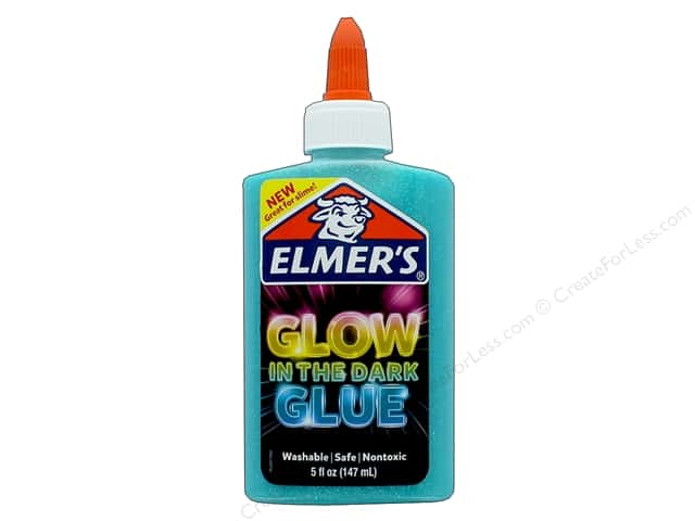 Elmer's Glow In The Dark Glue 5 oz. Blue