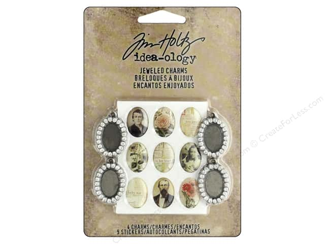 Tim Holtz Idea-ology Jeweled Charms