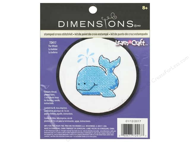 Dimensions Cross Stitch Kit The Whale