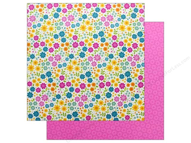 Doodlebug Collection Sweet Summer Paper 12 in. x 12 in. Summer Paradise (25 pieces)