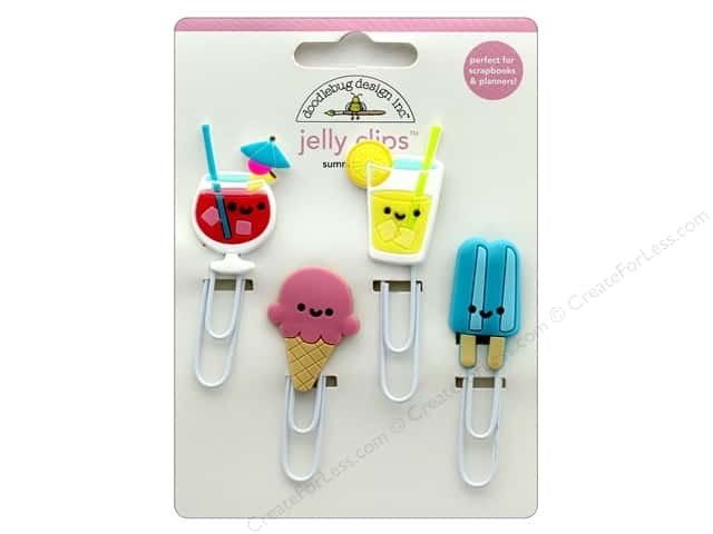 Doodlebug Collection Sweet Summer Jelly Clips Summer Treats