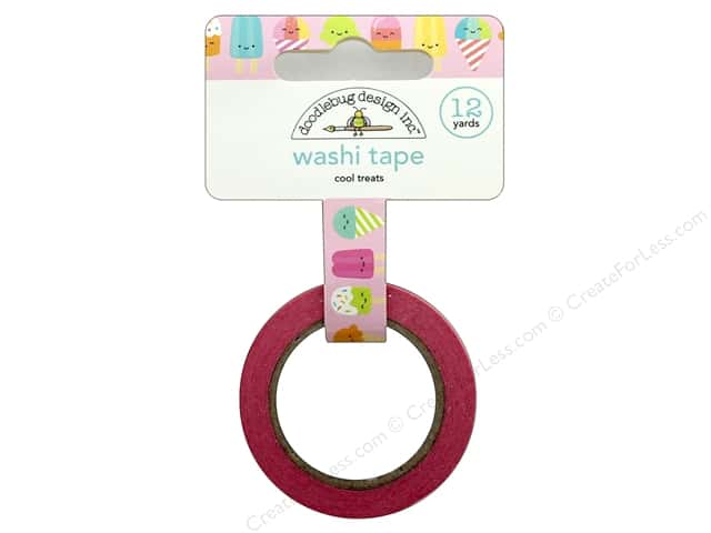 Doodlebug Collection Sweet Summer Washi Tape Cool Treats