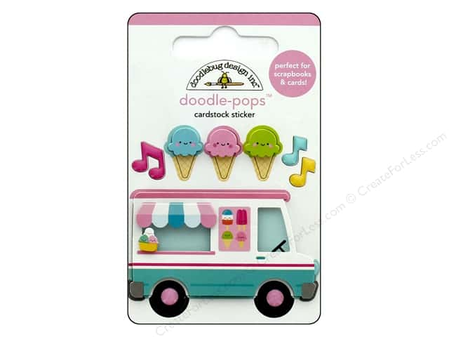 Doodlebug Collection Sweet Summer Doodle Pops Ice Cream Truck