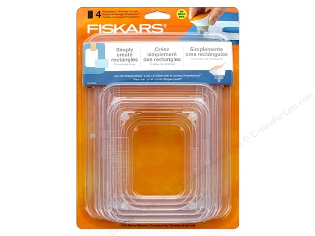 Fiskars Shapexpress2 Template Rectangle
