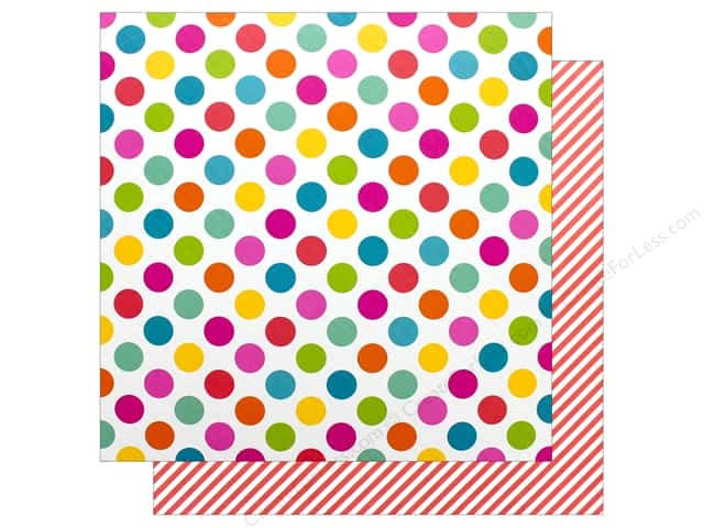 Doodlebug Collection Sweet Summer Paper 12 in. x 12 in. Beach Bag