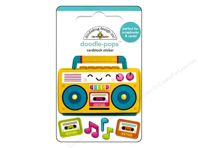 Doodlebug Collection Sweet Summer Doodle Pops Boom Box