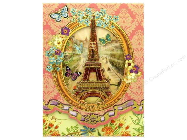 Punch Studio Pocket Note Pad Window Vintage Paris