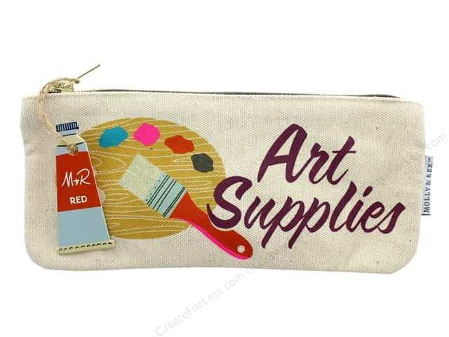 Molly & Rex Bag Art Lover Zippered Pencil